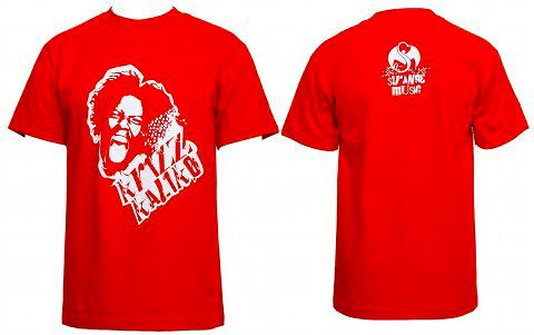 Krizz Kaliko - Face T-Shirt, Red