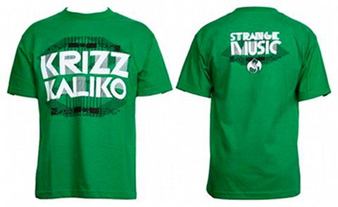 Krizz Kaliko - Green T-Shirt