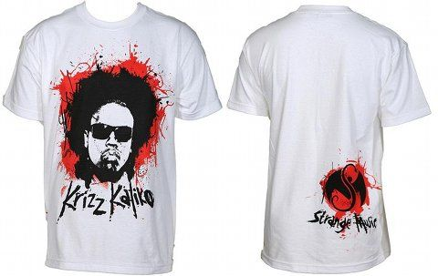 Krizz Kaliko - White Hair Explosion T-Shirt