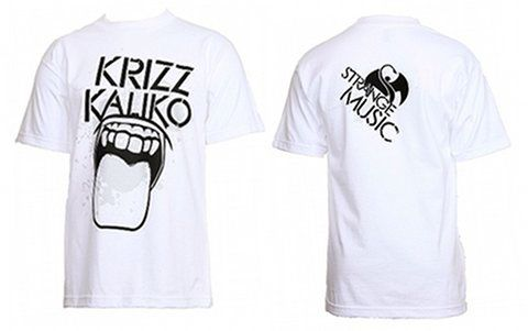 Krizz Kaliko - White Lick T-Shirt