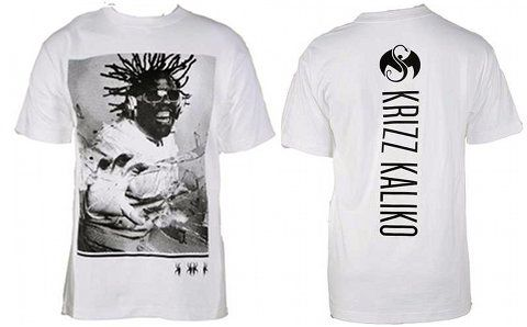 Krizz Kaliko - White T-Shirt Shock Treatment 2