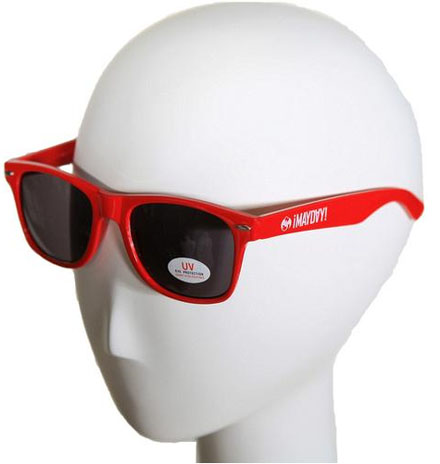 ¡MAYDAY! Red Sunglasses