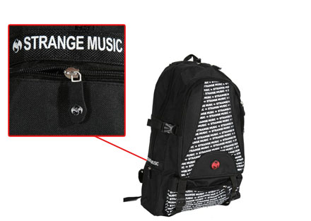 Strange Music - Black Backpack