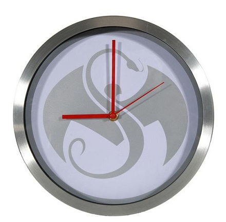 Strange Music Snake And Bat Clock