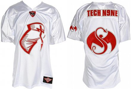 Tech N9ne White Facepaint Jersey