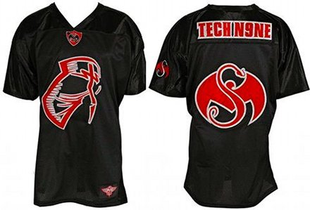Tech N9ne Black Facepaint Jersey