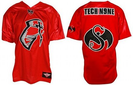 Tech N9ne Red Facepaint Jersey