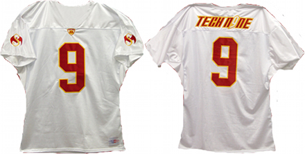 Tech N9ne White Football Jersey