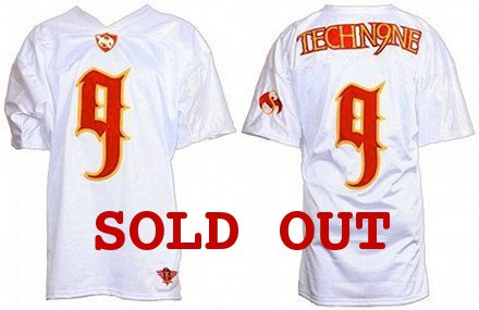 Tech N9ne - White Ltd Edition Football Jersey