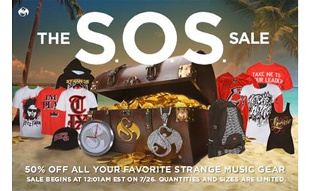 Strange Music SOS Sale
