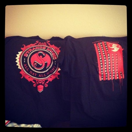 Strange Music Shirts From S.O.S. Sale!