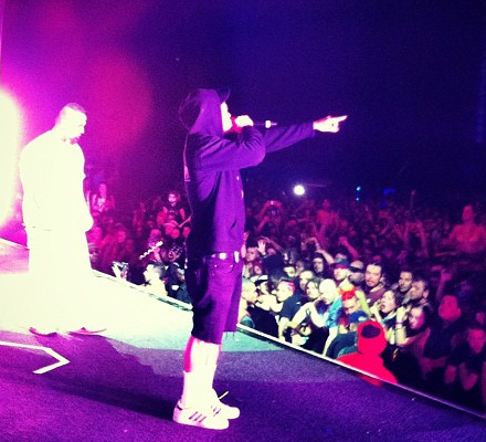 Bernz And Tech N9ne Performing The Noose Live