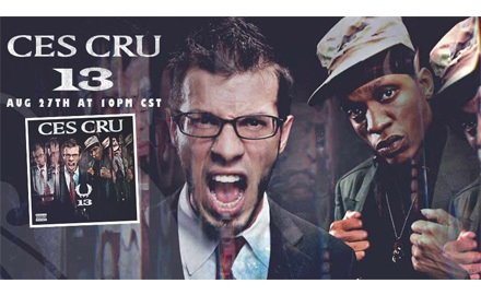 The Clock Strikes 13 With CES Cru LIVE On UStream Tonight!