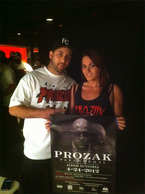 Fans Support Prozak On Mile High Tour