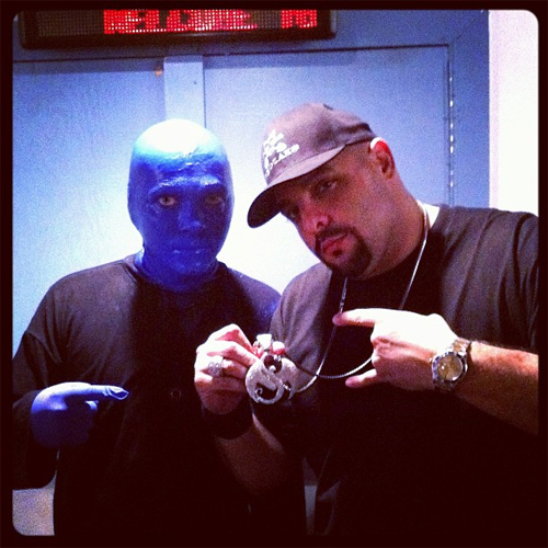 Prozak And Blue Man Group