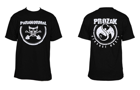 Black Paranormal T-Shirt