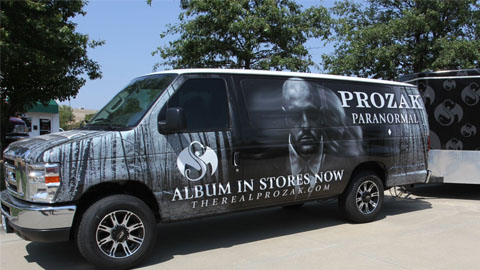 "Fans Search For Prozak's ""Paranormal"" Van On Mile High Tour"