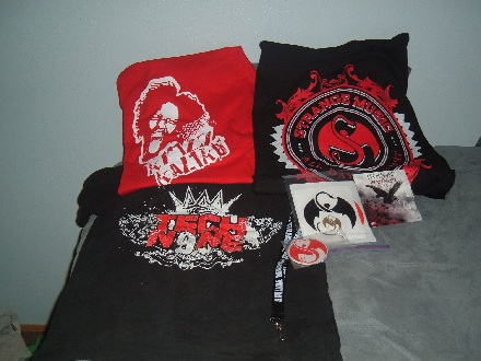 Strange Music T-Shirts And Gear