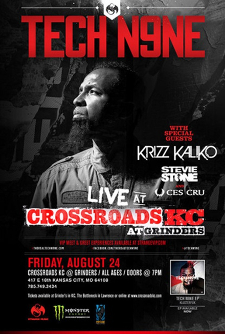 Tech N9ne Live At Crossroads KC