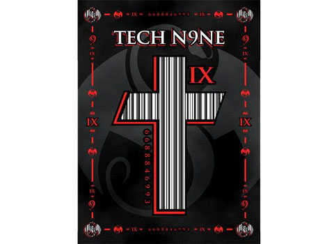 Tech N9ne Barcode Cross Poster