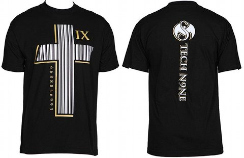 Tech N9ne Black Barcode shirt