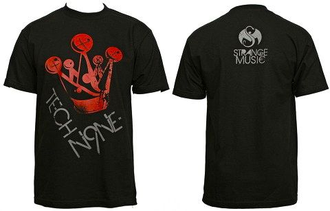 Tech N9ne - Black Crown T-Shirt