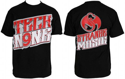 Tech N9ne - Black Midwestern T-Shirt