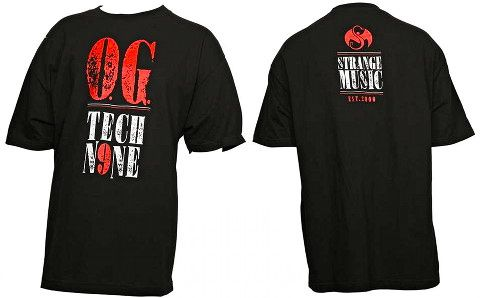 Tech N9ne - Black OG T-Shirt