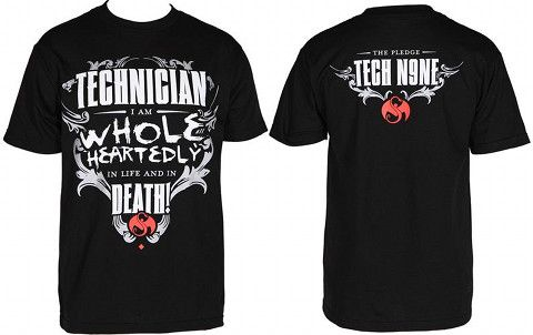 Tech N9ne - Black Pledge T-Shirt