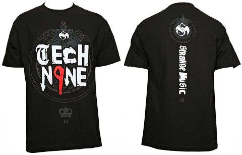 Tech N9ne - Black Royalty T-Shirt