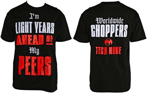 Tech N9ne - Black Worldwide Choppers T-Shirt