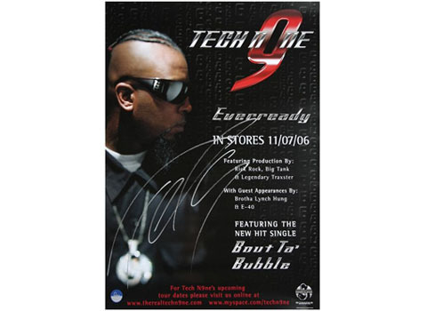 Tech N9ne Everready Poster