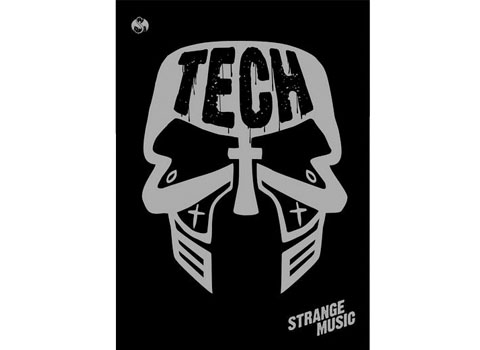 Tech N9ne Face Paint Poster