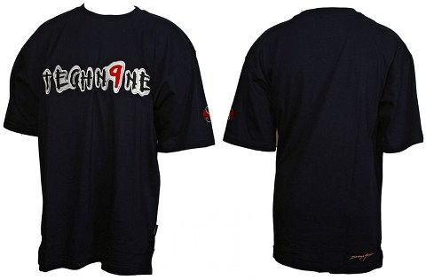 Tech N9ne - Navy Embroidered T-Shirt