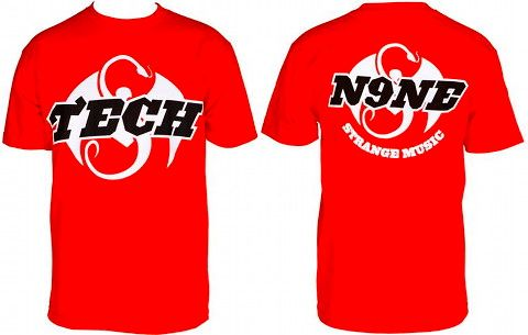Red 50/50 T-Shirt