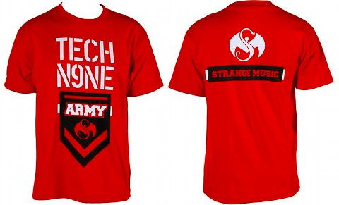 Tech N9ne - Red Army T-Shirt