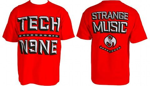 Tech N9ne - Red Chisel T-Shirt