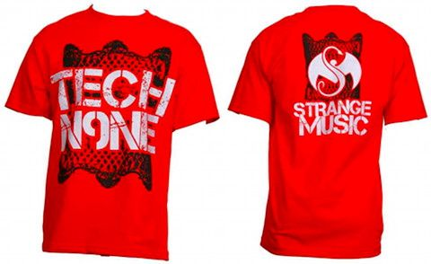 Tech N9ne - Red Crown Up, Crown Down T-Shirt