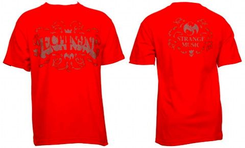 Tech N9ne - Red Swirl T-Shirt