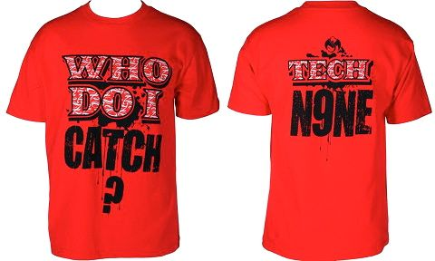 Tech N9ne - Red Who Do I Catch T-Shirt