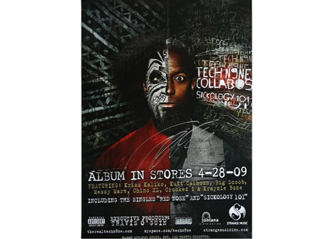 Tech N9ne - Sickology 101 Poster