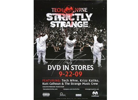 Tech N9ne Strictly Strange Poster