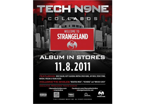 Tech N9ne Welcome To Strangeland Poster