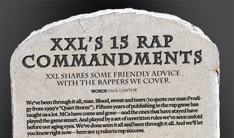 XXL 15 Rap Commandments Featuring Tech N9ne
