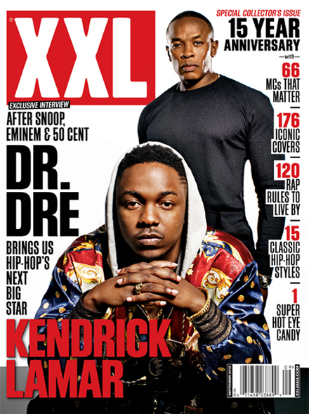 XXL September Issue Featuring Stevie Stone