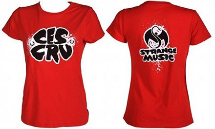 CES Cru - Ladies Red T-Shirt