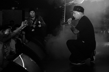 Madchild Performs In Chilliwack