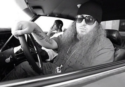 "Rittz On Set For ""Paradise"""