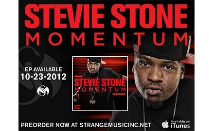 Stevie Stone – 'Momentum' Pre-Order Now Available!
