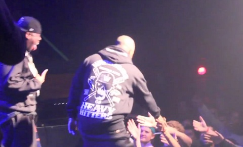 Tech N9ne In Toronto With Slim Thug